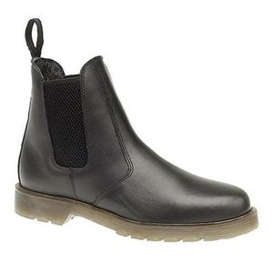 BOTTINE Grafters - Bottines en cuir - Homme Noir