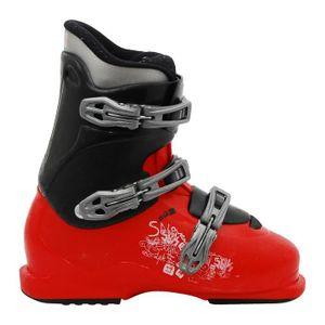 CHAUSSURES DE SKI Chaussure ski junior Salomon J SPK rouge et noir
