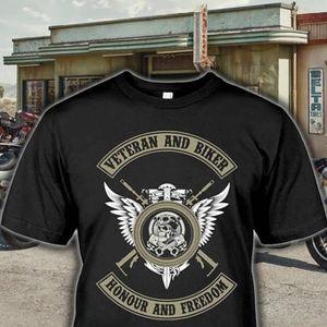 T-SHIRT zhiying vétéran tee-shirt Biker pour les fans-cade
