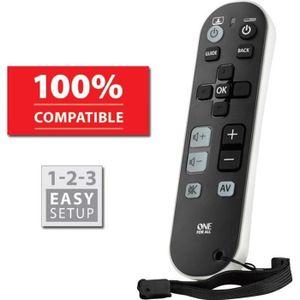 TÉLÉCOMMANDE TV ONE FOR ALL URC6810 Télécommande universelle Zappe