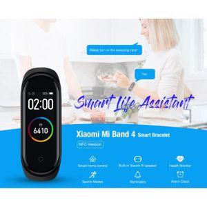 MONTRE CONNECTÉE Montre intelligente-Xiaomi XMSH08HM Band 4 Smart B