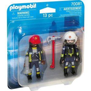 UNIVERS MINIATURE PLAYMOBIL 70081 - City Action - Pompiers secourist