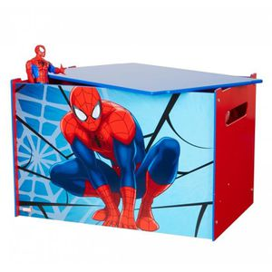 coffre a jouets spiderman achat vente coffre a jouets spiderman pas cher cdiscount. Black Bedroom Furniture Sets. Home Design Ideas