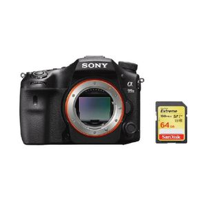 APPAREIL PHOTO RÉFLEX SONY A99 II + carte SD de 64 Go