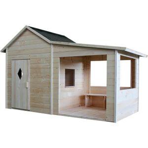 MAISONNETTE EXTÉRIEURE Cabane en bois pour enfant  AMARYLLIS