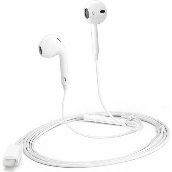 Écouteur filaire pour iPad iPhone 7 / 7Plus / 8 / X