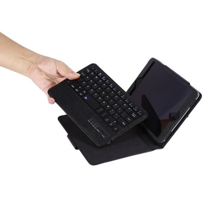 Clavier Étui de Protection pour iPad Mini 4/3/2/1 avec Clavier ans Fil Bluetooth