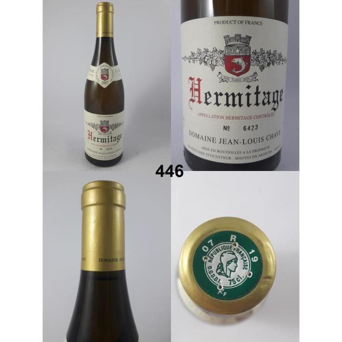 Hermitage - Chave 2007 - N° : 446, Hermitage, Blanc