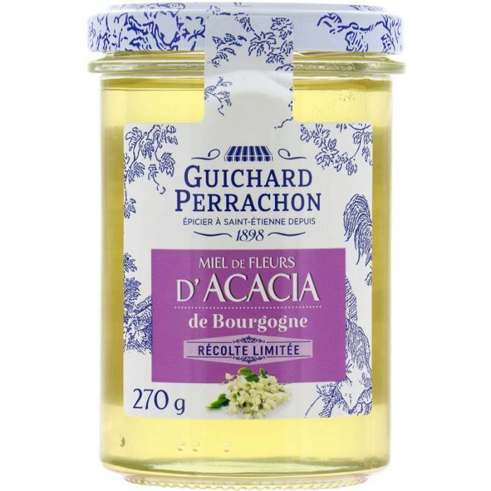 GUICHARD PERRACHON Miel de fleurs d'acacia de Bourgogne - 270 g