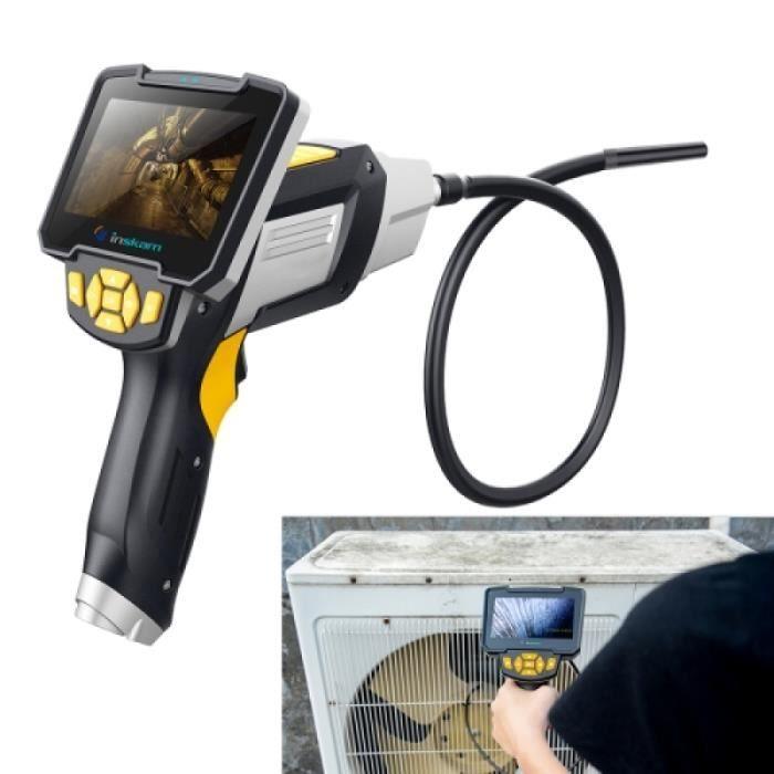 Endoscope Numerique - inskam112 IP67 1080P HD Digital Endoscopes de poche endoscopes de poche 4 pouces avec écran de visualisation