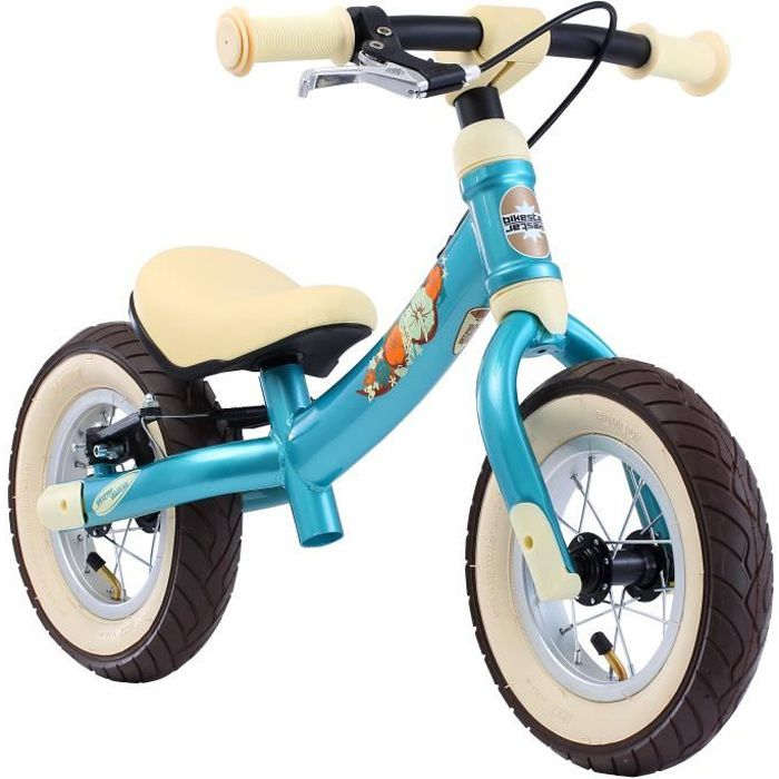 BIKESTAR - Draisienne - 10 pouces - pour enfants de 2-3 ans - Edition Sport 2-en-1 - garçons et filles - Turquoise