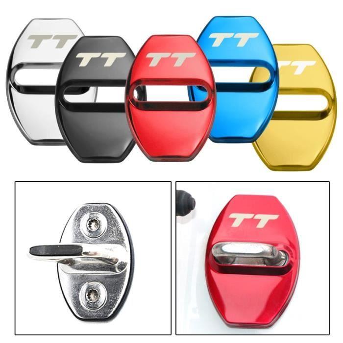 Serrure de porte décoration Protection housse emblème étui pour Audi TT A1 A3 A4 A5 A6 A7 A8 - Modèle: style 1 blue - ANQCCTB06567
