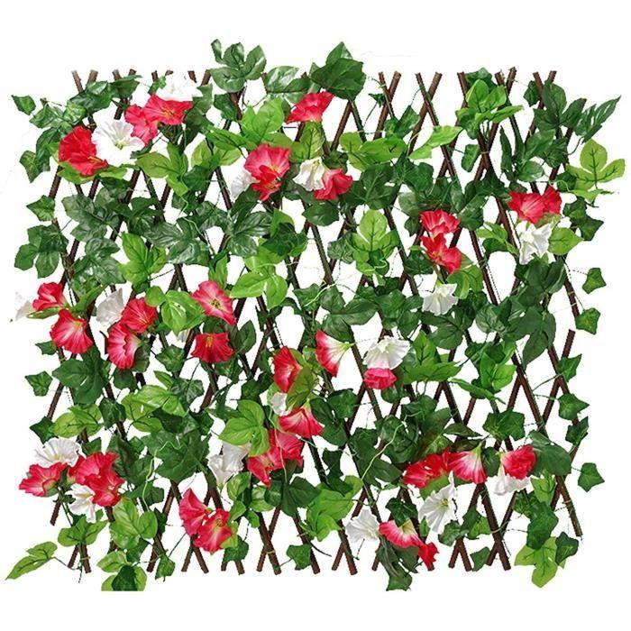 CLOTURE - BARRIERE BITEFU 6 Pcs Plante Artificielle,Fausse Plante Verte Boston Foug&egravere Artificielle Plante pour Brise Vue198