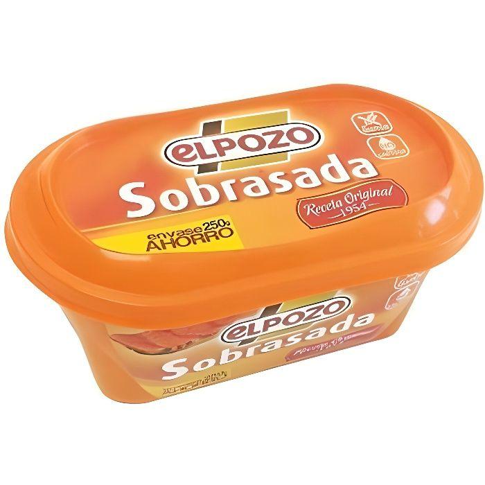 Crème de soubressade el Pozo 250 Grs