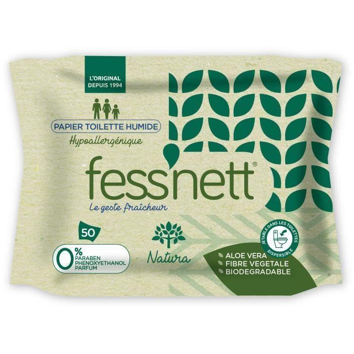 Fess'Nett Papier Toilette Humide - Natura - INNOVATION 2019