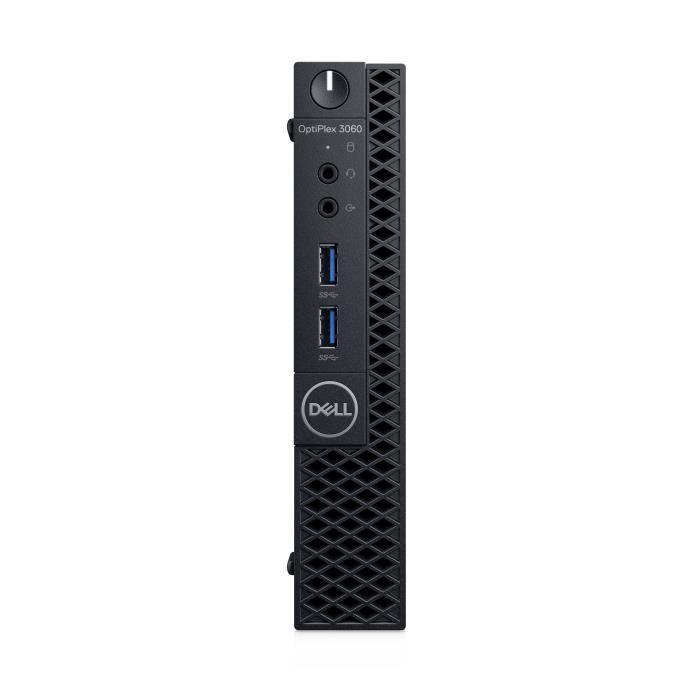 Dell Optiplex 3060, 3,10 Ghz, Intel Core i3 de 8eme génération, i3 8100T, 4 Go, 500 Go, Windows 10 Pro