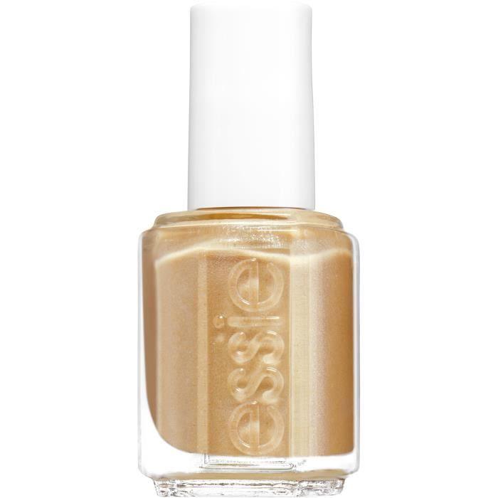 Essie Vernis à ongles 570 Mani Thanks - Un doré scintillant des plus chaleureux - 13,5 ml