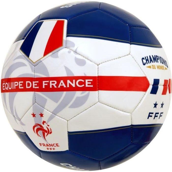 FFF Ballon de football -Champion du Monde- Licence Offcielle FFF - T5