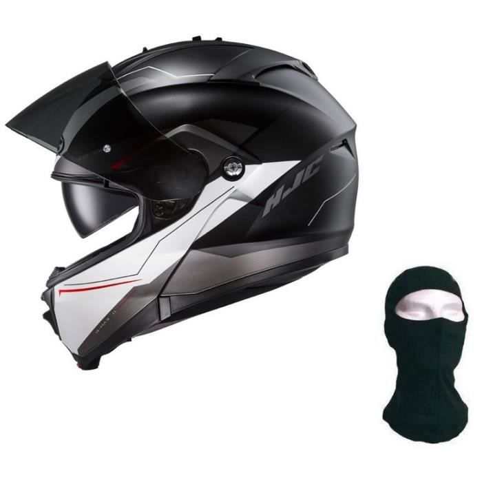 HJC Casque modulable ISMAX II Magma + cagoule