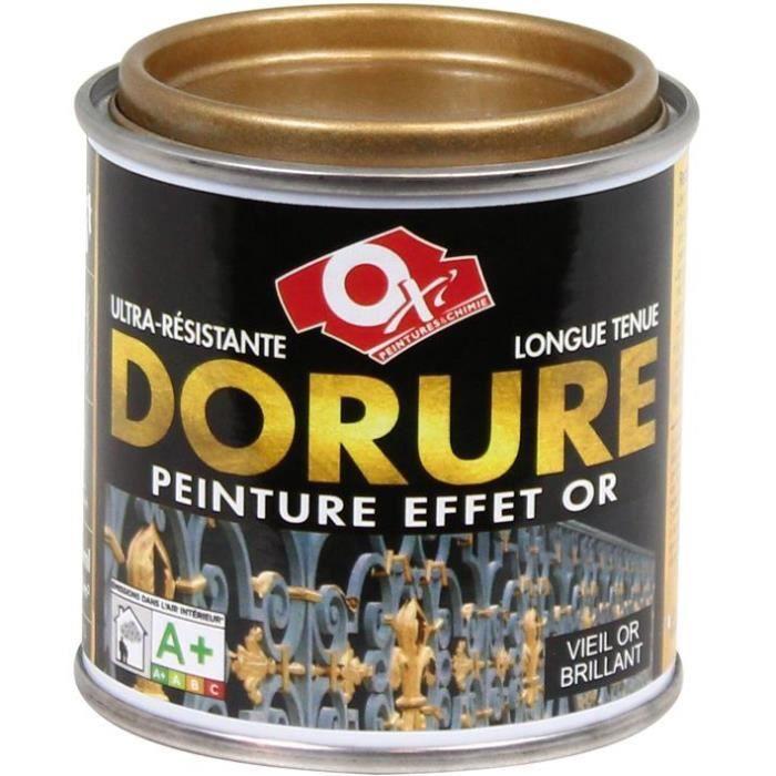 Peinture dorure vieil or - 125mL