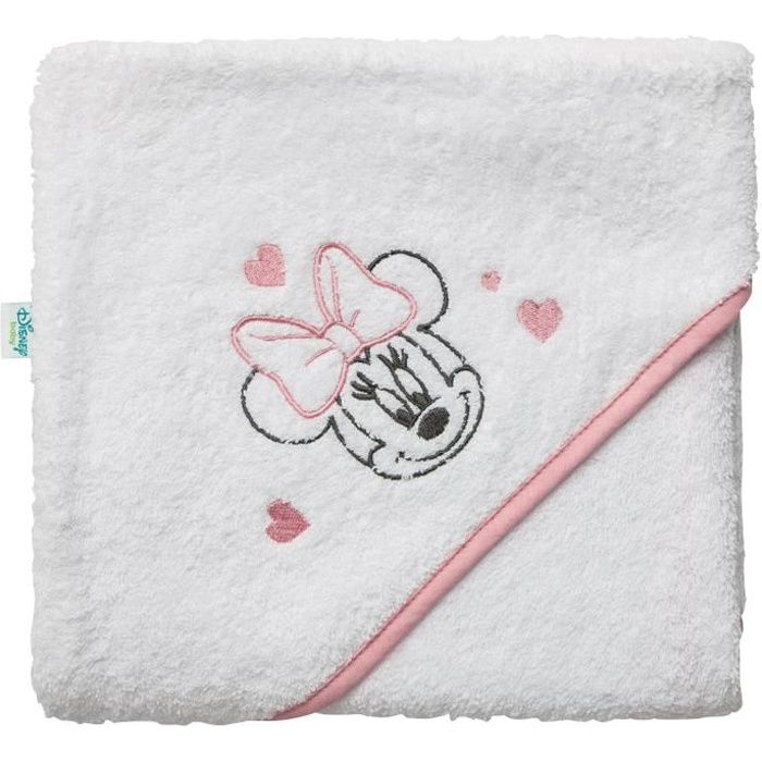 DISNEY BABY Minnie Cape de bain - 80 x 80 cm