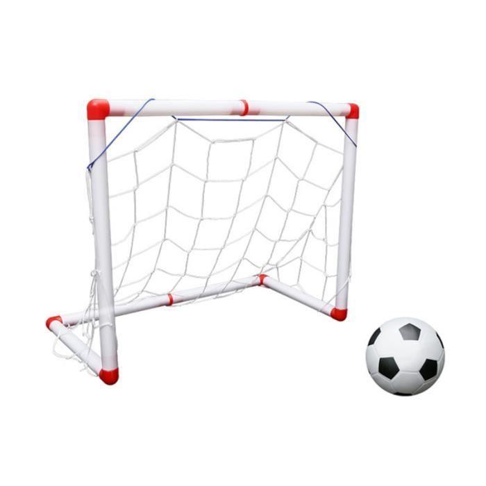 1 Set Football Net Portable Mini Robuste Intérieur Pliant Durable Porte De Objectif pour Enfants MINI CAGE - MINI BUT