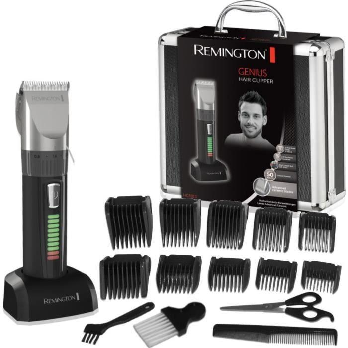 Remington HC5810 Coffret Cheveux, Tondeuse Cheveux Homme,Lames Auto-Affûtées Advanced Ceramic, Moteur Pro Puissant