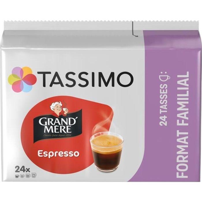 LOT DE 10 - TASSIMO Grand Mere Café dosettes Espresso - 24 dosettes