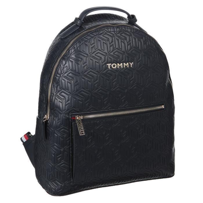 TOMMY HILFIGER Sac à Dos AW0AW078400GZ Noir Femme