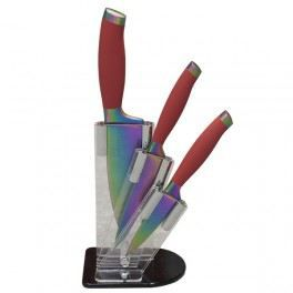 Bloc prestige avec 3 couteaux titane arc en ci…