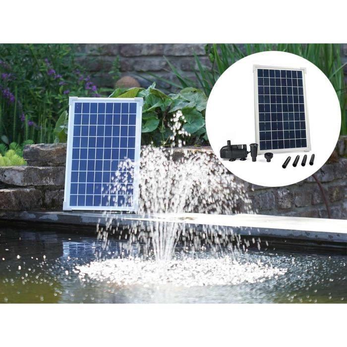 Ubbink Ensemble SolarMax 600 avec panneau solaire et pompe 1351181