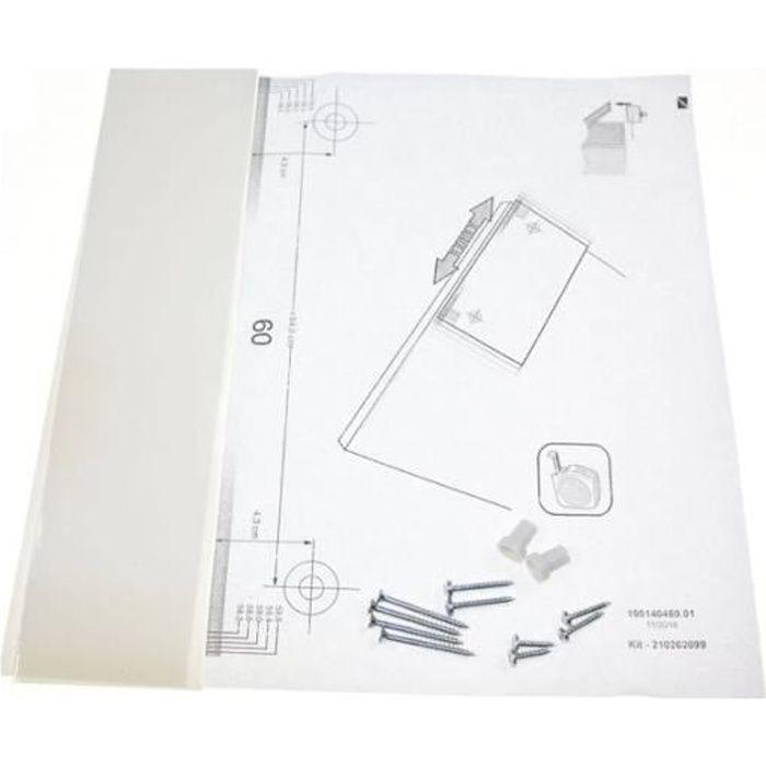488000481360. Kit Installation 45/60cm (velcro) Pour LAVE VAISSELLE - SemBoutique