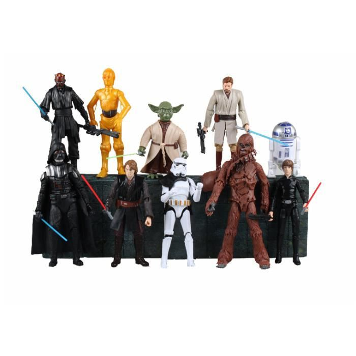 figurine star wars chewbacca achat vente jeux et jouets pas chers. Black Bedroom Furniture Sets. Home Design Ideas
