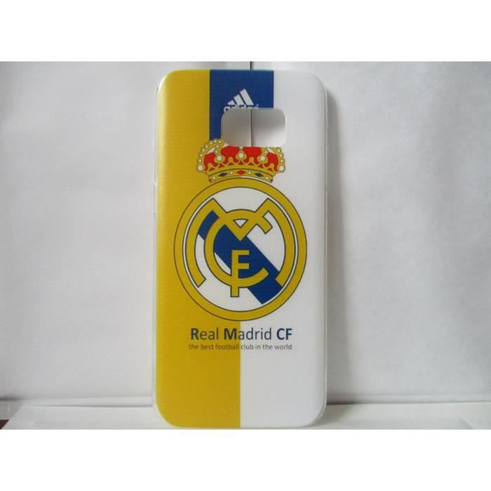 coque real madrid samsung galaxy s7 edge neuf achat. Black Bedroom Furniture Sets. Home Design Ideas