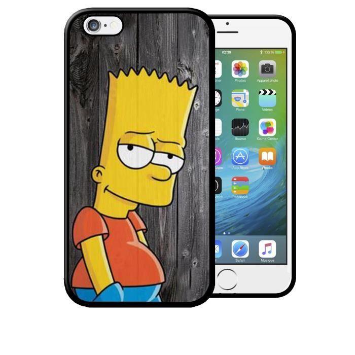 coque iphone 5c bart simpson original sprinfield h