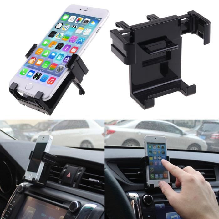 support t l phone portable universel voiture iphone 6 5 galaxy s5 s4 htc lg achat. Black Bedroom Furniture Sets. Home Design Ideas