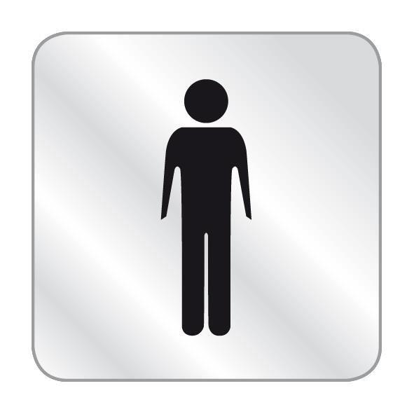 IUIIUI 17cm Bricolage 3D Toilettes Maison Salon D/écoration Signe Homme//Femmes WC Panneau Dentr/ée Miroir De Porte Sticker D/écor Autocollant Trois Couleurs Color : Gold