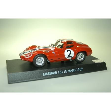 maserati 151 le mans 1962 mod le 1 43 achat vente voiture construire soldes. Black Bedroom Furniture Sets. Home Design Ideas