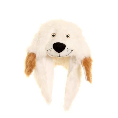 BONNET - CAGOULE Chapka à tête et oreilles de chien - Enfant unisex