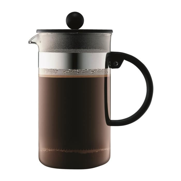 Bodum bistro cafeti re piston 8 tasses 1l noir achat - Cafetiere a piston avis ...