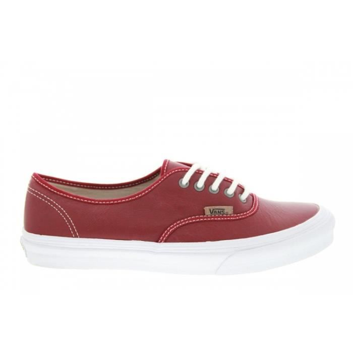 Baskets mode Vans Authentic Slim Rio Red