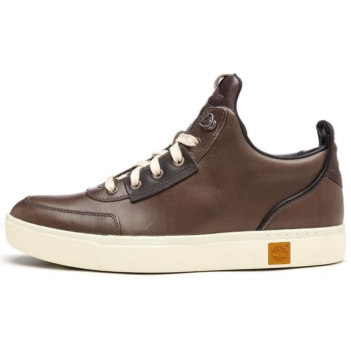 Timberland Amherst Hit Top Chukka Bottes en Tornado Dark Marron A17J9 [UK 11.5EU 46]