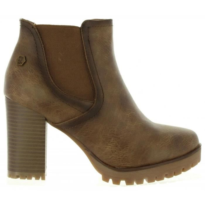 Bottines pour Femme REFRESH 63928 C TAUPE