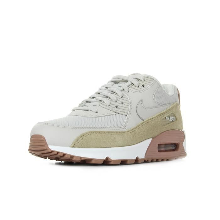 BASKET NIKE Baskets Air Max 90 - Homme - Beige