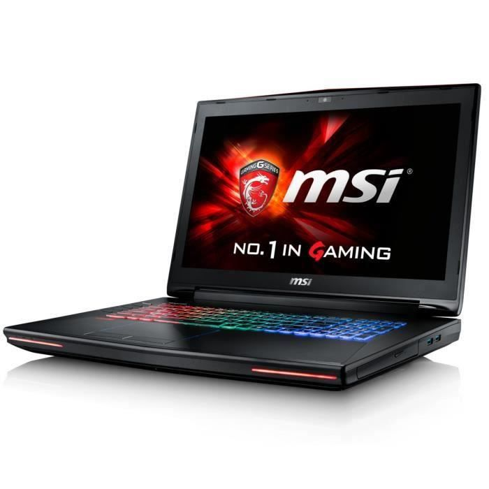 destockage msi pc portable gamer gt72s 6qe 1215xfr 17. Black Bedroom Furniture Sets. Home Design Ideas