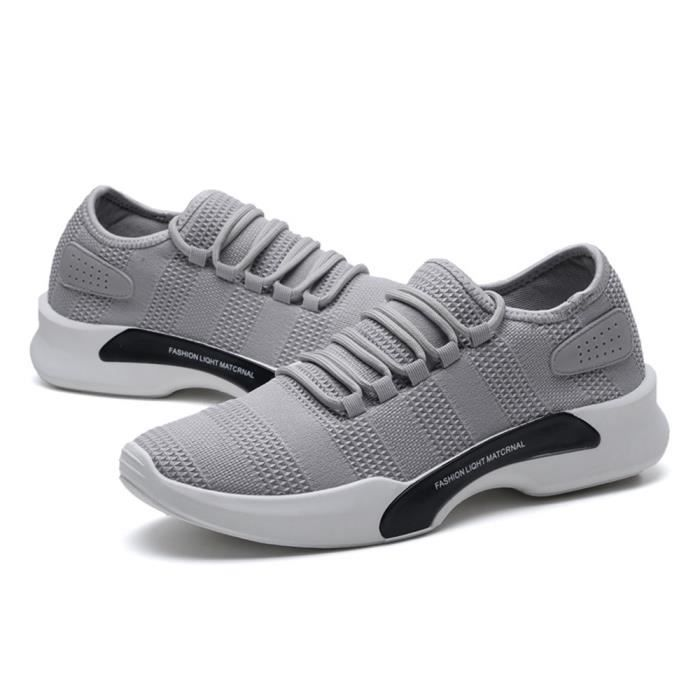 Chaussure LLT Basket Occasionnelles Homme XZ011Gris Comfortable Ultra 41 nUfWC