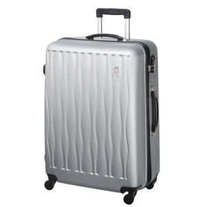 CASINO Valise trolley ABS - 75cm - 4 roues - Gris