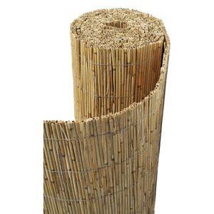 CLÔTURE - GRILLAGE Canisse en bambou non pelé 2 x 5 m 2 x 5 m