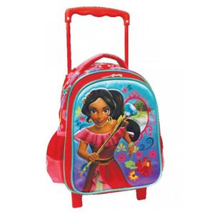 CARTABLE Sac à roulettes trolley maternelle Elena d'Avalor