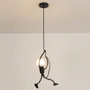 LUSTRE ET SUSPENSION Lustre - E27 Lampe Suspension - Humanoïde Lampes d